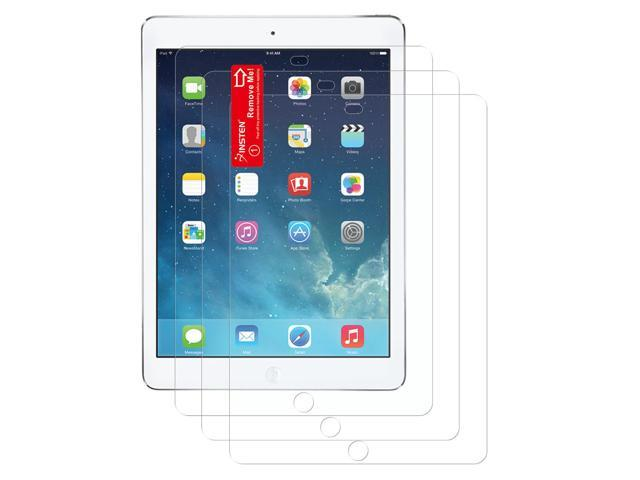 eForCity 3-Pack Reusable Anti-Glare Screen Protector compatible with Apple iPad Air 1 / iPad Air 2