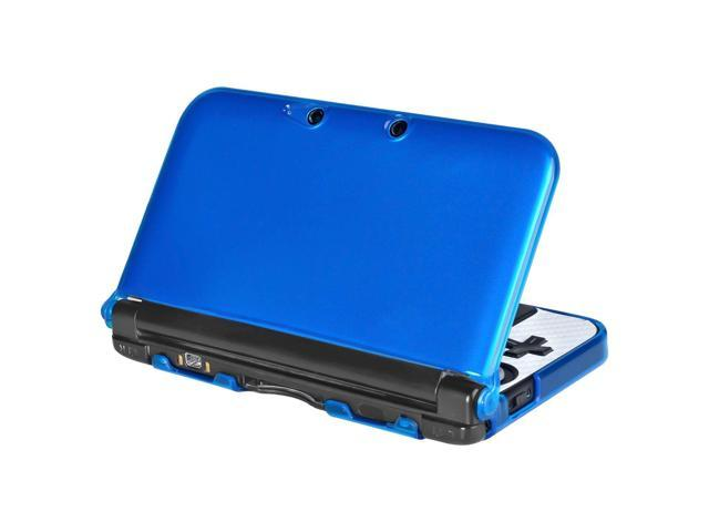eForCity Stylish Fashion Durable Stiff Protective TPU Rubber Soft Case compatible with Nintendo 3DS XL / LL, Blue