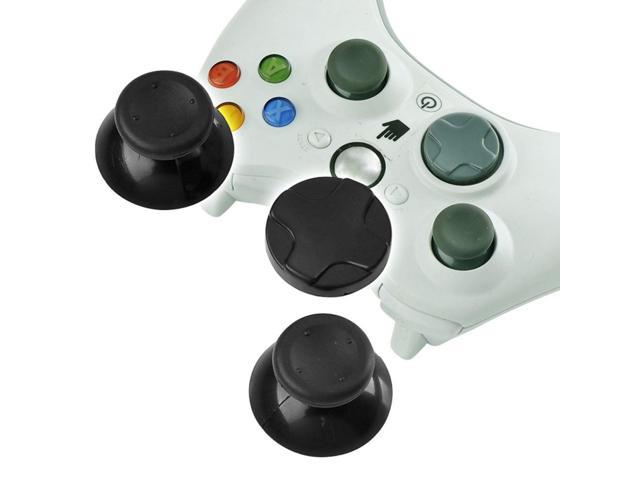 eForCity 2x 2-Pack D-Pad+Black Analog Stick Replacement Joystick For Microsoft xBox 360 Controller