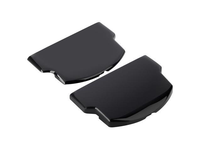 Battery Door Set [Slim & Extended] for Sony PSP Slim 2000, Black