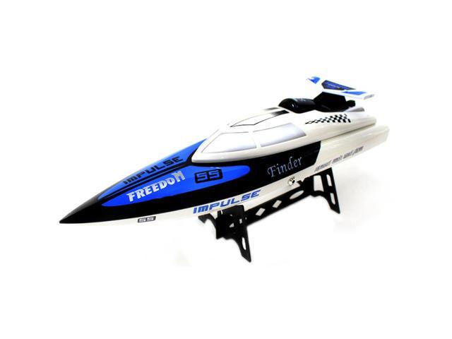 BT912 2.4G Radio Control RC Speed Racing Boat Ship Watercraft - White