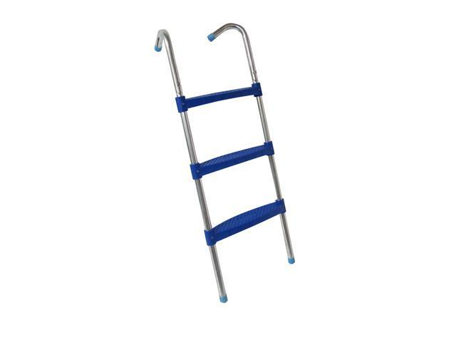 """Upper Bounce 39"""" Trampoline Ladder with 3"""" Wide Flat Step"""