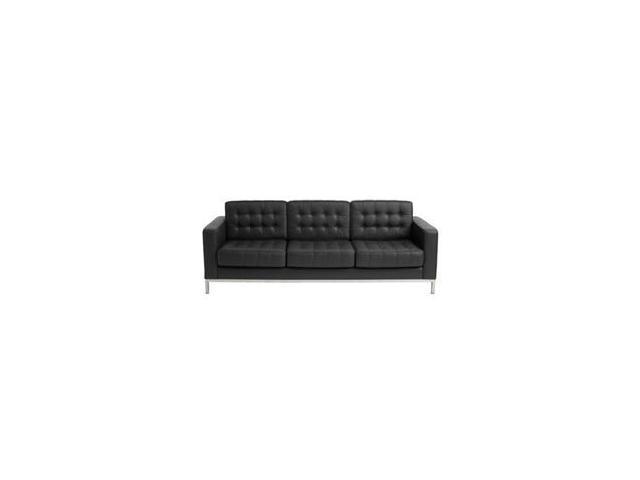 Button Sofa Leather