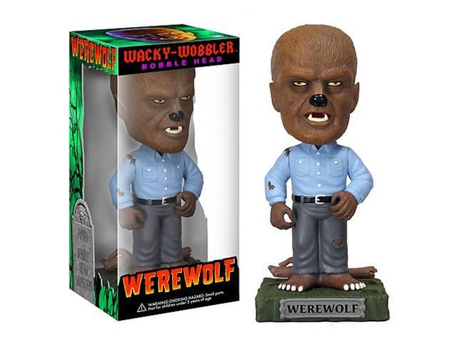Classic Monsters Wolfman Wacky Wobbler Bobble Head