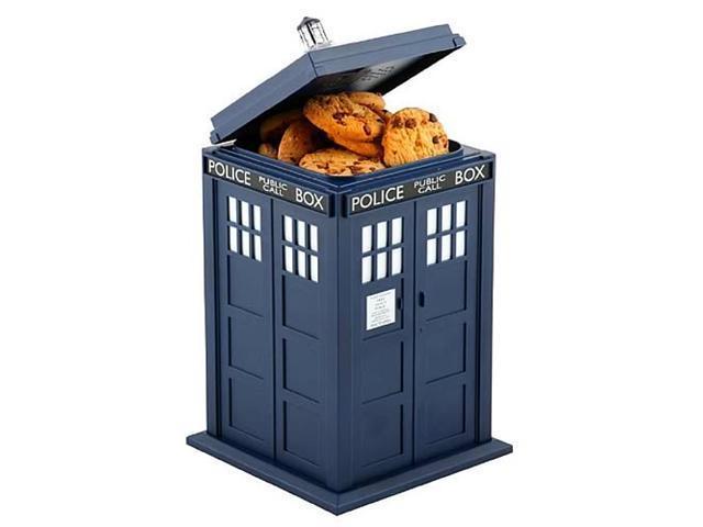 Doctor Who Talking Cookie Jar (Tardis) by Underground Toys