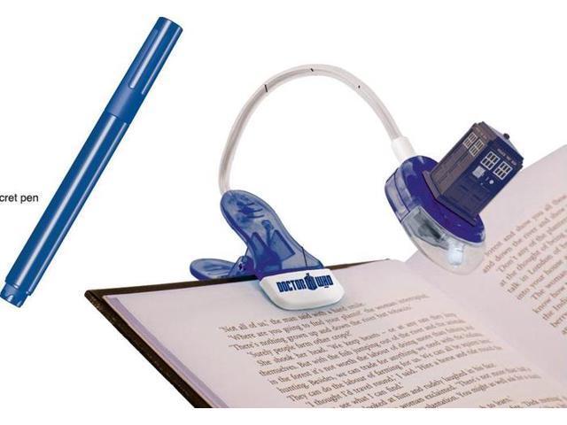 Doctor Who Tardis Book Light w/UV Pen