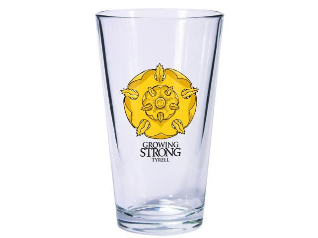 Game of Thrones Pint Glass Tyrell