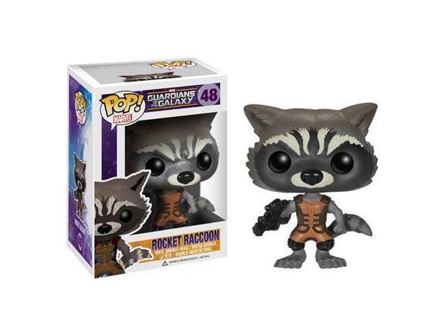 Guardians of the Galaxy Rocket Raccoon Pop! Vinyl Bobble Figure