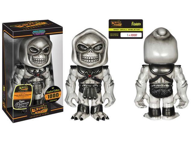Masters of the Universe Grey Skull Skeletor Hikari Sofubi Figure