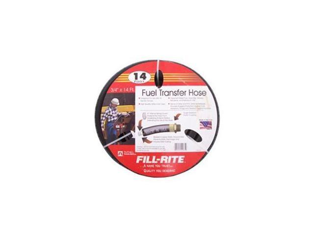 "FRH07514 Fill-Rite 3/4"" x 14 Ft Fuel Tank Transfer Pump Hose"