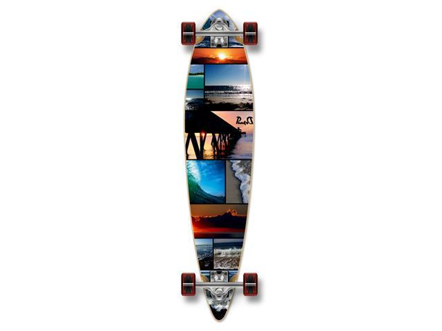 Complete Graphic Longboard PINTAIL Skateboard 40