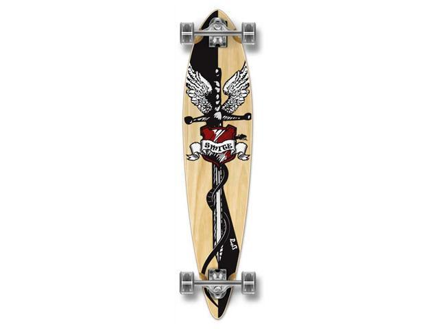 "Complete Longboard PINTAIL Skateboard 40"" X 9"" - MixItUp"