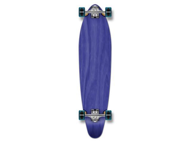 """Complete Longboard KICKTAIL Skateboard 40"""" X 9.75"""" - Blue"""