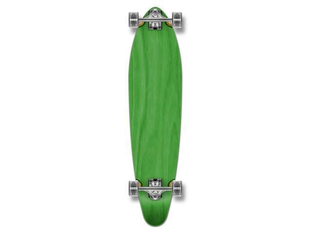"""Complete Longboard KICKTAIL Skateboard 40"""" X 9.75"""" - Green"""
