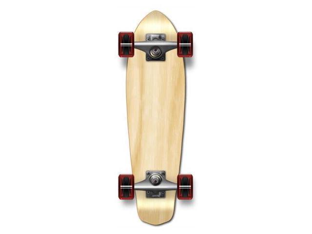 "Complete Longboard MiCro Cruiser Skateboard 25"" X 7"" - Natural"