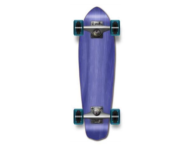 "Complete Longboard MiCro Cruiser Skateboard 25"" X 7"" - Blue"