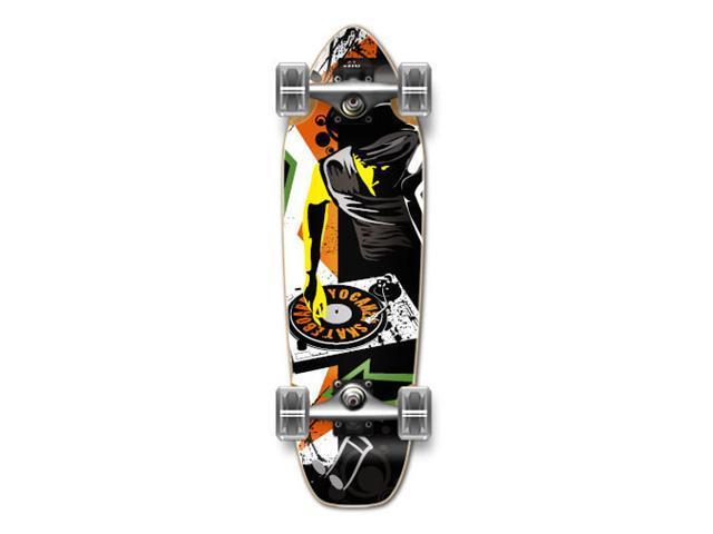 "Complete Longboard Mini Cruiser/ Banana Cruiser Skateboard 27"" X 8"" - MIXITUP"