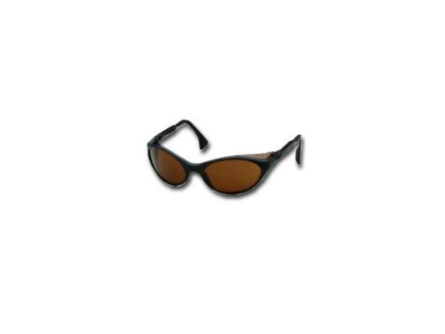 Bandit Black Frame Safety Glasses with Espresso Lens