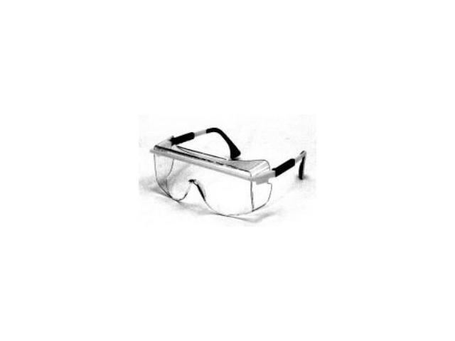 Safety Glasses  Black Frames/Clear Lens