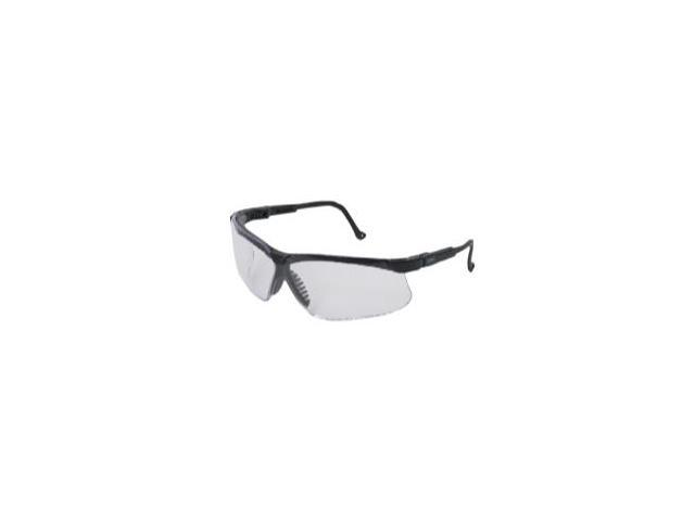 Genesis Black Frame Glasses with Clear Lens with Fog Coating