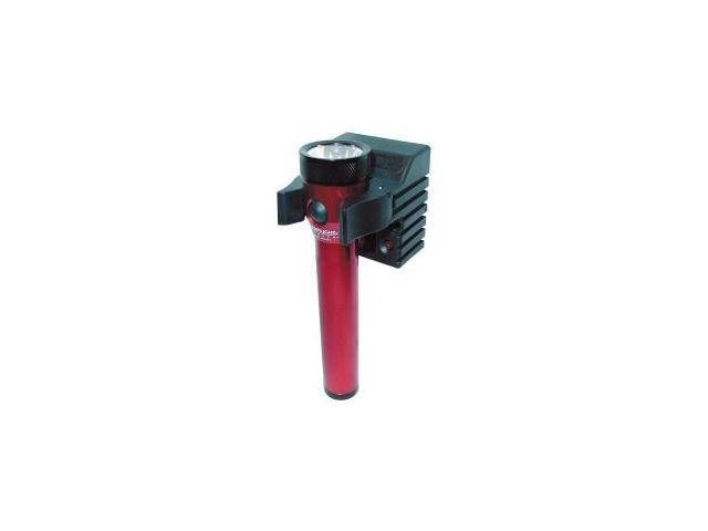 Stinger Red Rechargeable Flashlight with AC-DC and 2 Holders
