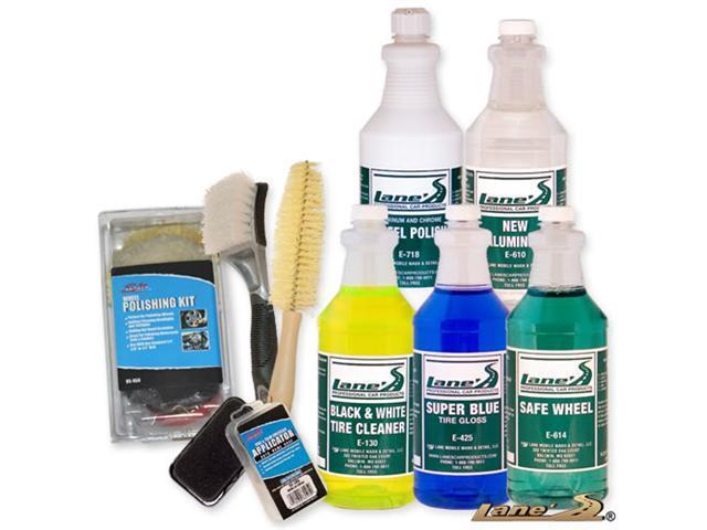Ultimate Wheel Polishing & Tire Cleaning Kit