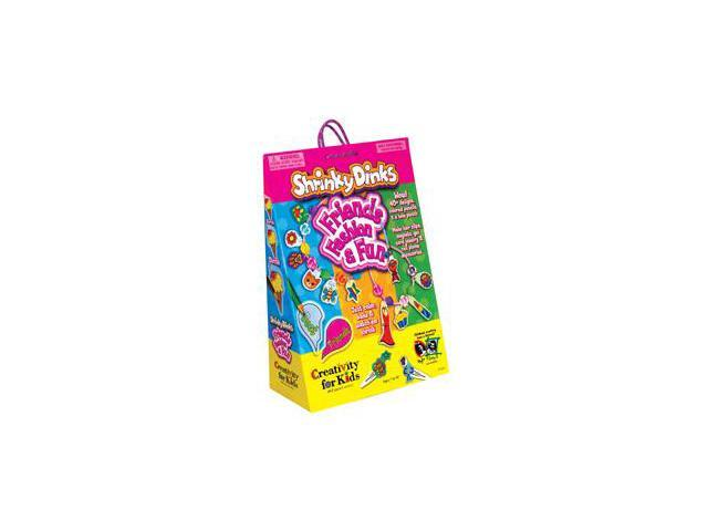Creativity For Kids Shrinky Dinks Friends, Fashion & Fun