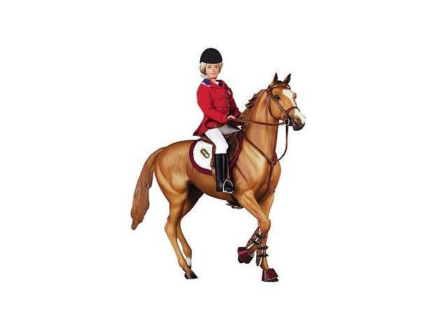 English Hunter/Jumper Bridle For Traditional-Sized Models