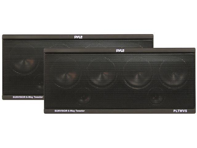 PYLE CAR AUDIO PLTWVS NEW TWEETER SYSTEM - PAIR 200 WATT WITH WIRES AND STRAPS