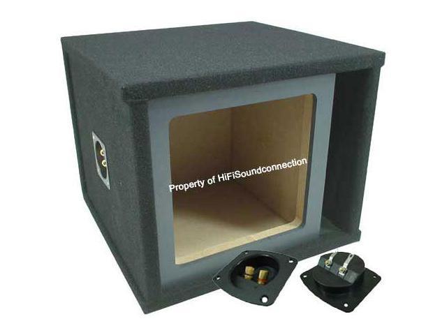"KICKER CAR AUDIO L3 L5 L7 SOLOBARIC PAINTABLE 10"" SUBWOOFER SPEAKER SUB BOX"