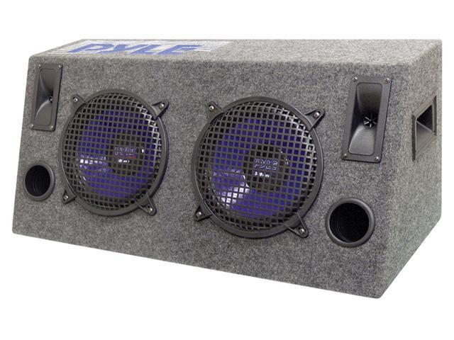 "PYLE Dual 12"" 1000W Hatchback Subwoofer Enclosures"