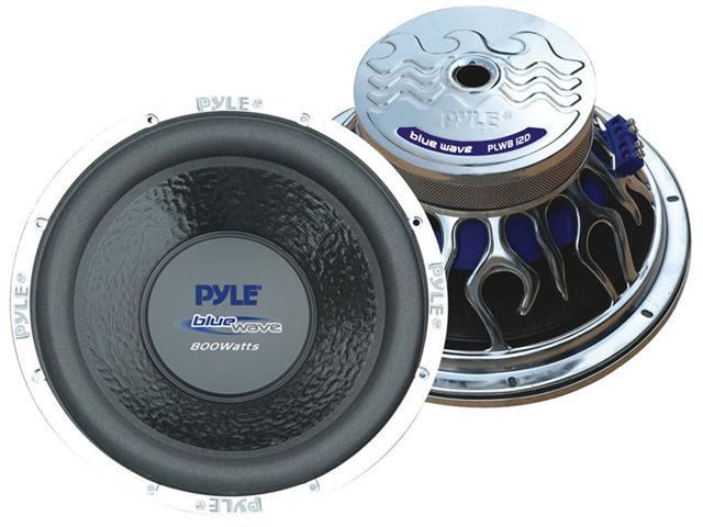 PYLE CAR AUDIO PLWB12D NEW 12 INCH CAR AUDIO SUBWOOFER DUAL VOICE COIL 800 WATTS