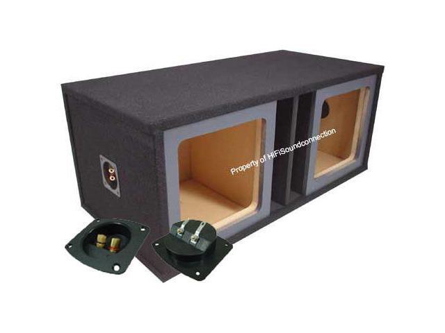 KICKER CAR STEREO SOLOBARIC L3 L5 L7 PAINTABLE DUAL 10 SUBWOOFER SPEAKER SUB BOX