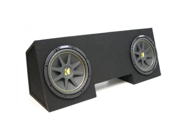 "CHEVY CAMARO 82-92 KICKER DUAL 10"" LOADED SUBWOOFER BOX"