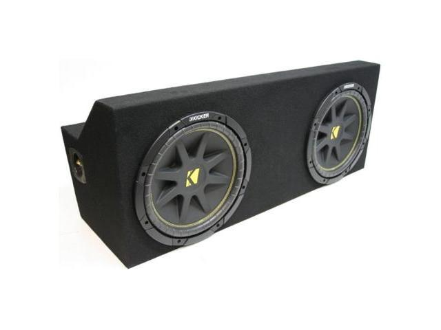 "FORD MUSTANG 05-08 DUAL 10"" KICKER C10 COMP SUB BOX NEW"