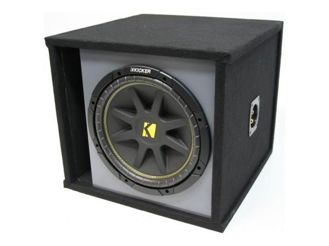 "KICKER 12"" PREMIUM LOADED C12 SUBWOOFER BOX SUB NEW"