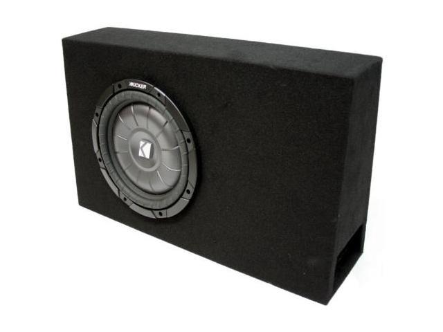 "KICKER 10"" VENTED LOADED TRUCK SUBWOOFER BOX CVT10 NEW"