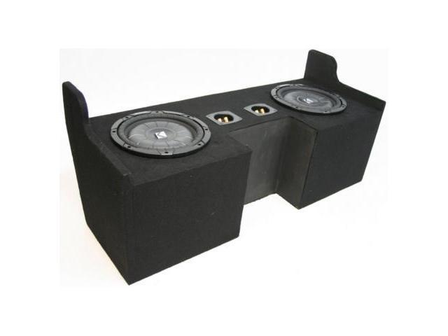 "CHEVY COLORADO 04-09 DUAL 12"" KICKER CVT12 SUB BOX NEW"