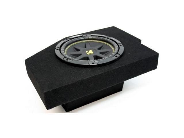 "DODGE RAM 02-08 10"" POWERED KICKER SUB BOX COMP C10 NEW"