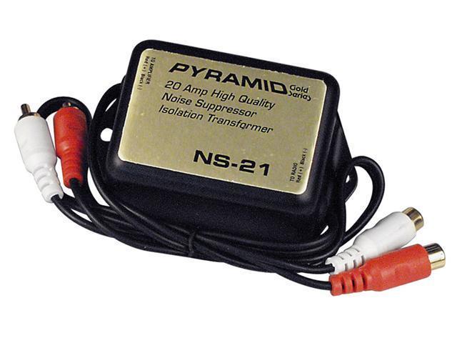 PYRAMID CAR AUDIO NS21 NEW 20 AMP RCA NOISE SUPPRESSOR ISOLATION TRANSFORMER