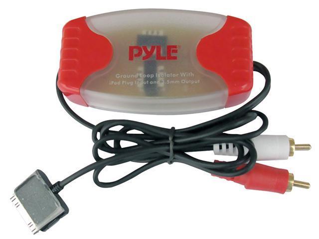 PYLE CAR AUDIO PLDN38RI NEW IPOD DIRECT TO RCA STEREO AUDIO GROUND LOOP ISOLATOR