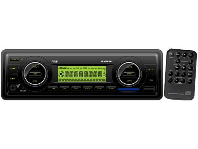 PYLE MARINE AUDIO PLMR87WB NEW AM FM - MPX MARINE IN-DASH RECEIVERS W/ USB PORT
