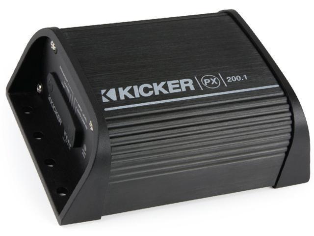 KICKER PX200.1 MONO AMPLIFIER COMPACT 200W 0.5 OHM MOTORCYCLE ATV UTV AMP NEW