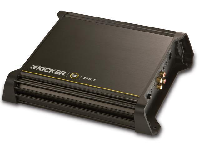 KICKER DX250.1 CAR AUDIO MONO CLASS D SUB 250W AMP
