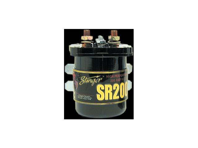 stinger sgp32 car audio 200 amp dual battery high current relay stinger sgp32 car audio 200 amp dual battery high current relay and isolator