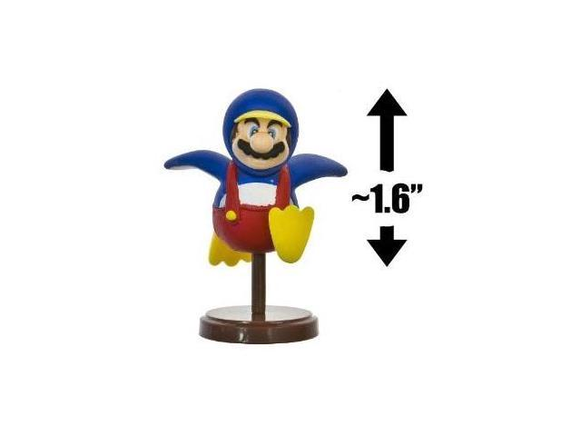 Nintendo Super Mario Bros: Wii Edition 1.6 inch Penguin Mario - Choco Egg - Japanese Import Mini Figure