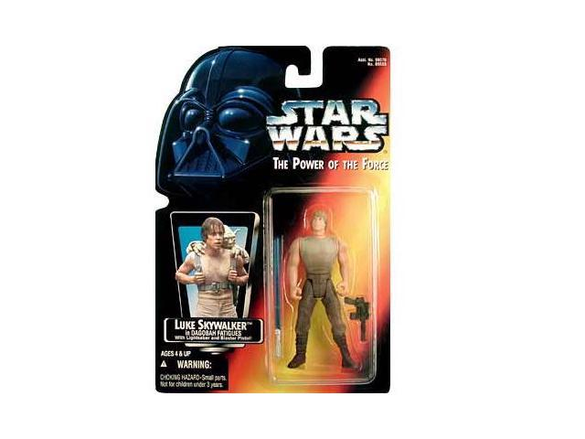 Star Wars: Luke Skywalker in Dagobah Fatigues with Short Lightsaber Action Figure