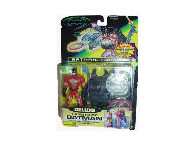 Batman Forever Deluxe: Laser Disc Batman Action Figure