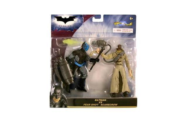 The Dark Knight Deluxe: Batman vs. Fear Shot Scarecrow Action Figure 2-Pack