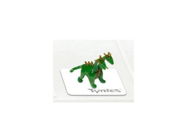 Tynies: Animals Mix - Two Headed Dragon * Colors May Vary * Glass Figure
